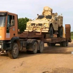Nigerian Army reportedly intercepts 6 armoured vehicles in